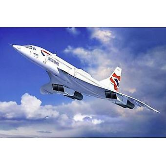 Revell 4997 Concorde British Airways Aircraft assembly kit 1:72