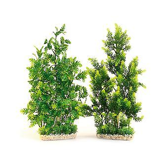 Sydeco plantas Aquaplant Gnt/bambú Natural 48cm (paquete de 4)
