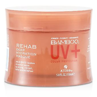 Alterna bambú color Hold + Color Protection Rehab Deep Hydration Mascarilla (Para Strong, vibrante, Color Protegida Cabello) 150ml / 5oz