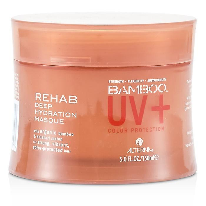 Alterna Bamboo Color Hold+ Color Protection Rehab Deep Hydration Masque (For Strong, Vibrant, Color Protected Hair) 150ml/5oz