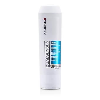 Goldwell Dual Senses Ultra Volume leichte Conditioner (für feines bis normales Haar) 200ml / 6.7 oz