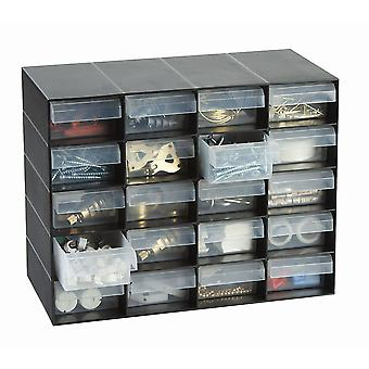 20 Multi Drawer Plastic Storage Cabinet for Home Garage or Shed