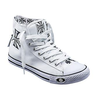 West Coast choppers shoes Warrior Hi tops