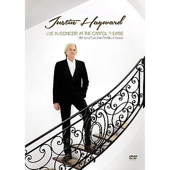 Justin Hayward - Live in Concert på Capitol Theatre [DVD] USA importen