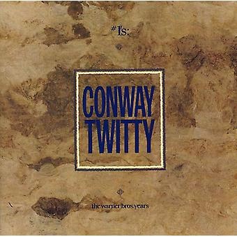 Conway Twitty - #1's: The Warner Bros. Years [CD] USA import