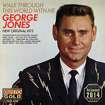 George Jones - Walk Through This World with Me [CD] USA import