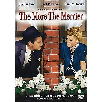 More the Merrier, the [DVD] USA import
