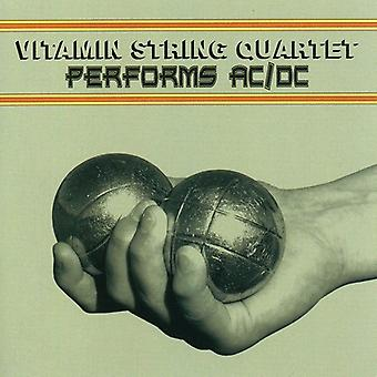 Tribute to Ac/Dc - Vitamin String Quartet Performs Ac/Dc [CD] USA import