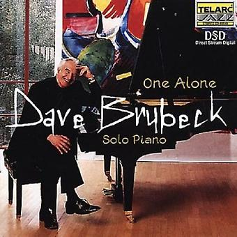 Dave Brubeck - One Alone [CD] USA import