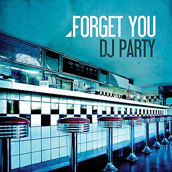 DJ Party - Vergeet u [CD] USA import