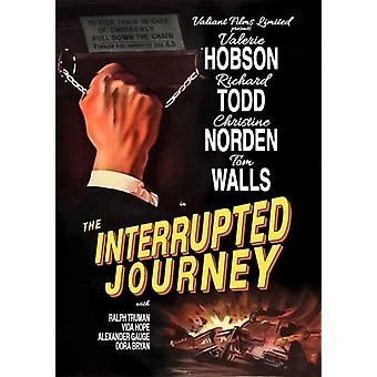 Importación de Estados Unidos de viaje [DVD] interrumpido