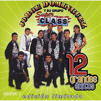 Jorge Dominguez - Jorge Dominguez: Vol. 2-12 Grandes Exitos [CD] USA importerer