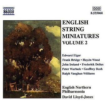 Englische Zeichenfolge Miniaturen - englische String Miniaturen Vol. 2 [CD] USA import