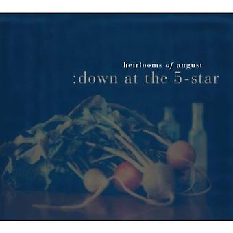 Heirlooms of August - Down at the 5-Star [CD] USA import