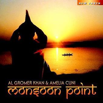 Khan/Cuni - Monsoon punkt [CD] USA import