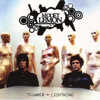 Modey Lemon - Thunder & Lightning [CD] USA import