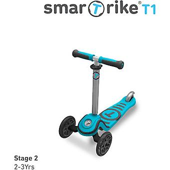 Smart Trike Scooter T1 Azul 15 Meses (Outdoor , On Wheels , Scooters)