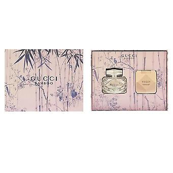 Gucci Gucci Bamboo 50ml Eau De Toilette Spray / 100ml Body Lotion