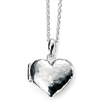 925 Silver Heart Pendant Photo Trend Necklace