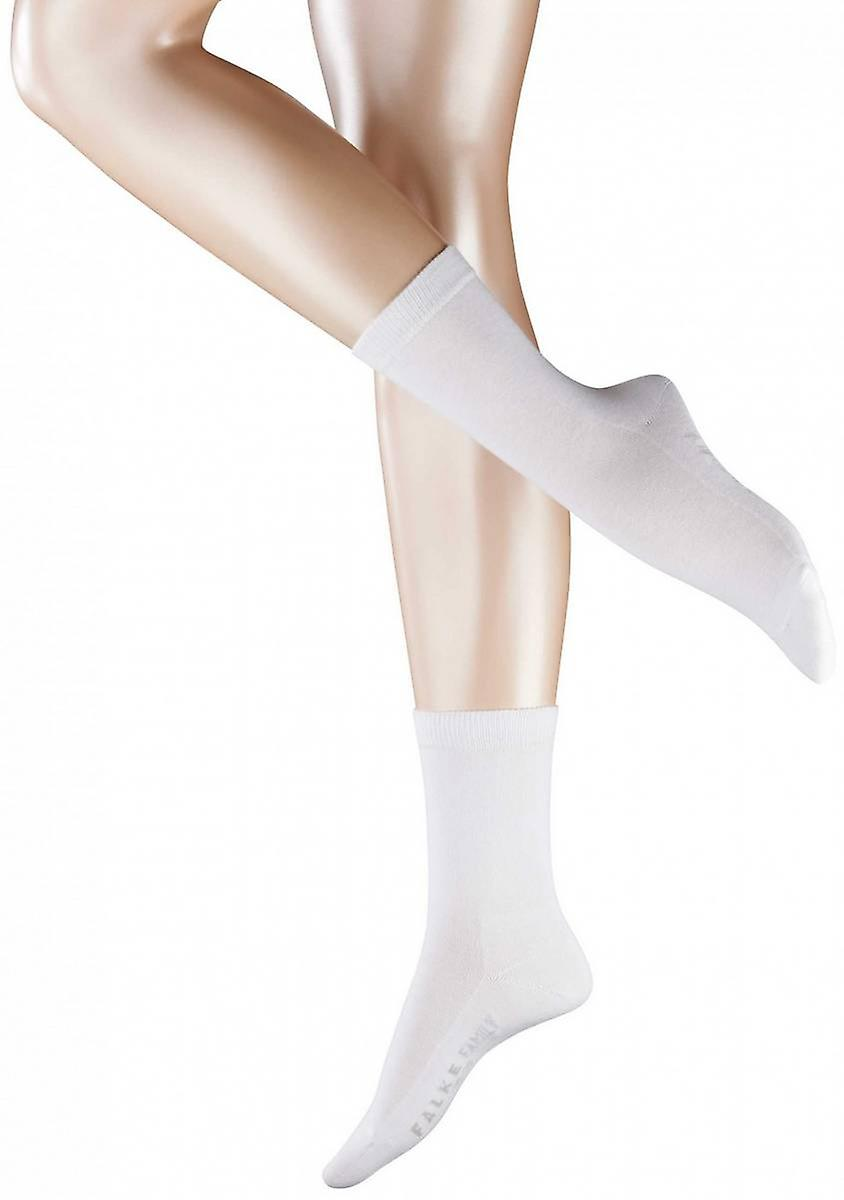 Falke Family Socks - White