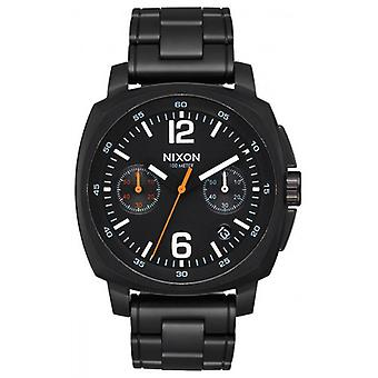 Nixon The Charger Chrono Watch - Black