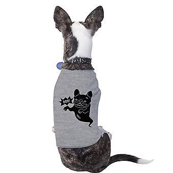 Boo Bulldogge französische Halloween Tshirt für Hunde lustige Kostüm T-Shirt