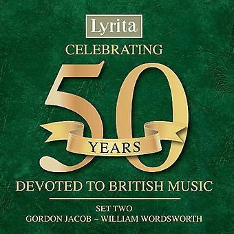 Lyrita Lso/Rpo/Lpo - fejrer 50 år Devoted til britisk musik, indstille to [CD] USA importerer