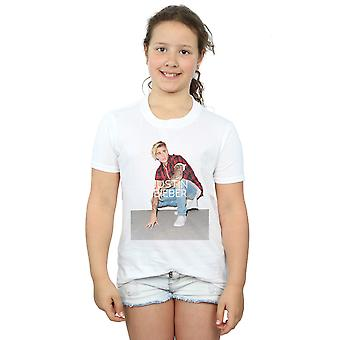 Justin Bieber Girls Flannel Photo T-Shirt