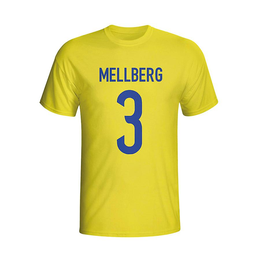 Olof Mellberg Sweden Hero T-shirt (yellow)