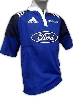 ADIDAS blues home rugby shirt