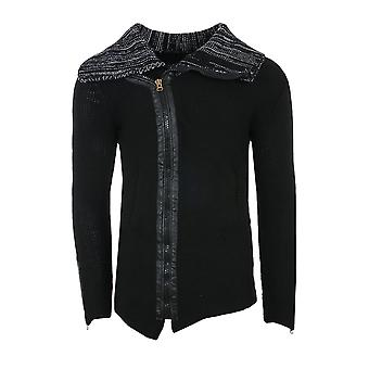 Tazzio fashion jacket men's Cardigan black slim fit