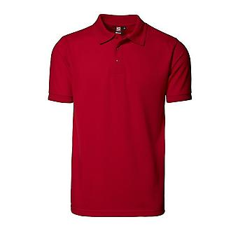 ID Mens Pro Wear Short Sleeve Regular Fitting Polo Shirt