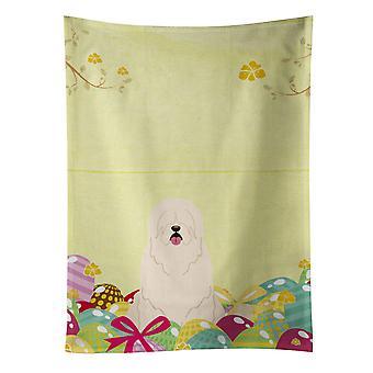 Carolines Treasures  BB6024KTWL Easter Eggs South Russian Sheepdog Kitchen Towel