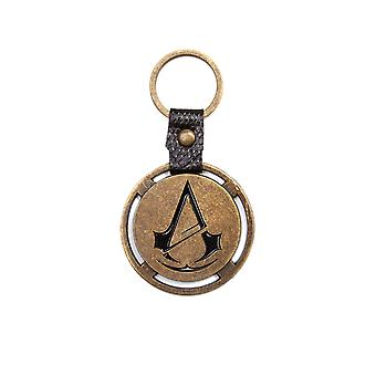 Assassins Creed Unity Keyring Keychain Logo PS4 Xbox Official New Metal