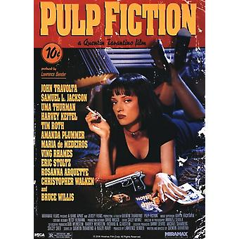 Pulp Fiction - Cover Poster Poster Print