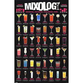 Mixology plakatutskrift plakat