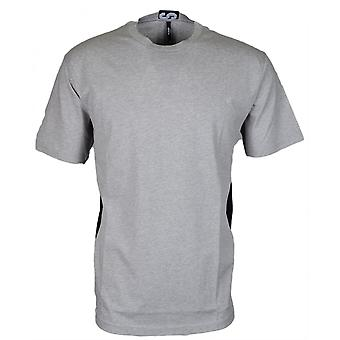 Versace Bu90497 Bj10289 Round Neck Grey/black T-shirt