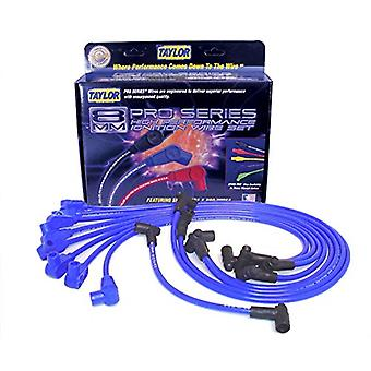 Taylor Cable 74602 Blue Spiro-Pro 8mm Universal Ignition Wire Set