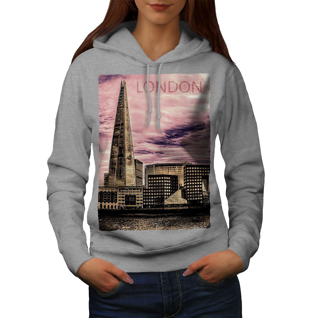Royaume-Uni Londres femmes grisHoodie de construction