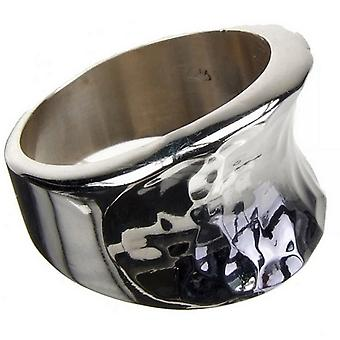 Sweeping Silver Ring