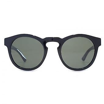 Levis Keyhole Round Sunglasses In Black