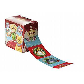 Self Adhesive Geschenkanhänger 50/Pack - Winnie The Pooh & Friends