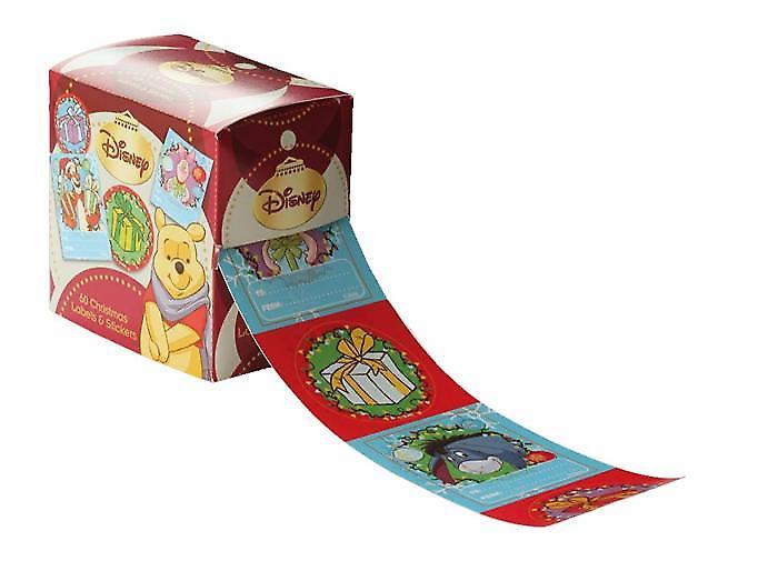 Clave del auto regalo adhesivo 50/paquete - Winnie The Pooh y amigos