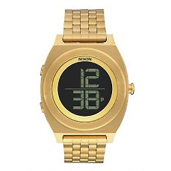Nixon The Time Teller Digi SS All Gold Armbanduhr (A948502)