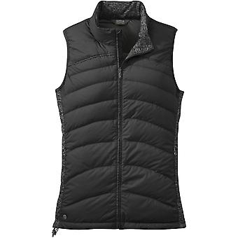 Outdoor Research Womens PLaza Down Vest Black (UK Size 14)