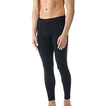 Mey 49042-123 Men's Casual Cotton Black Solid Colour Ankle Length Leggings