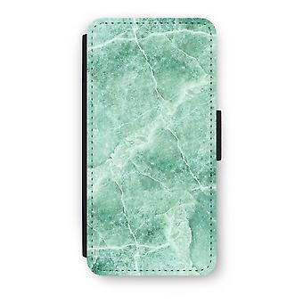 iPhone 6/6S Plus Flip Case - grøn marmor