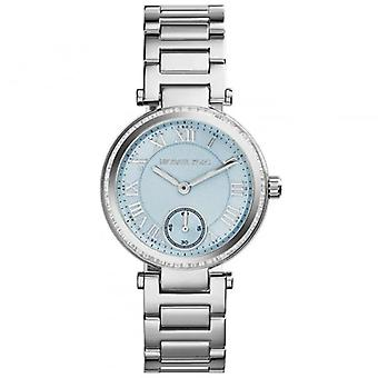 Michael Kors Watches Mk5988 Skylar Light Blue & Silver Stainless Steel Ladies Watch