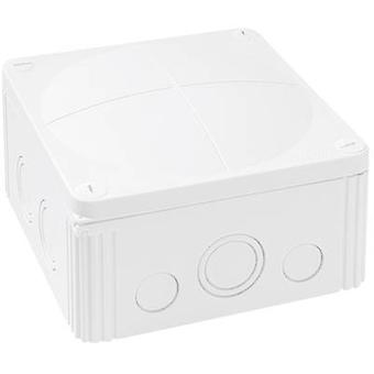 Junction box (L x W x H) 140 x 140 x 82 mm Wiska 10062210 White