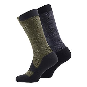 Sealskinz Mens Walking Thin Mid Sock